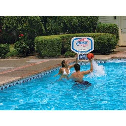 Poolmaster® Los Angeles Clippers Pro Rebounder Style Poolside Basketball Game - view number 2