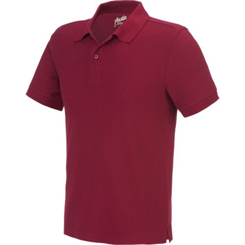 Display product reviews for Austin Trading Co. Men's Short Sleeve Performance Pique Polo Uniform Shirt