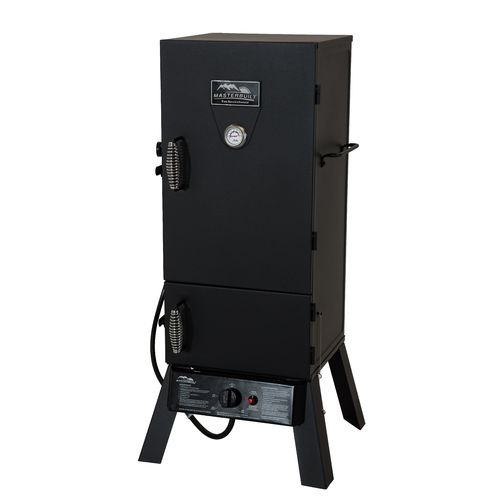"Display product reviews for Masterbuilt 30"" Vertical Gas Smoker"