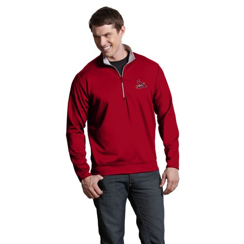 Antigua Men's St. Louis Cardinals Leader Pullover