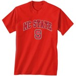 New World Graphics Men's North Carolina State University Arch Mascot T-shirt