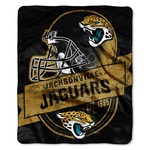 The Northwest Company Jacksonville Jaguars Grandstand Raschel Throw