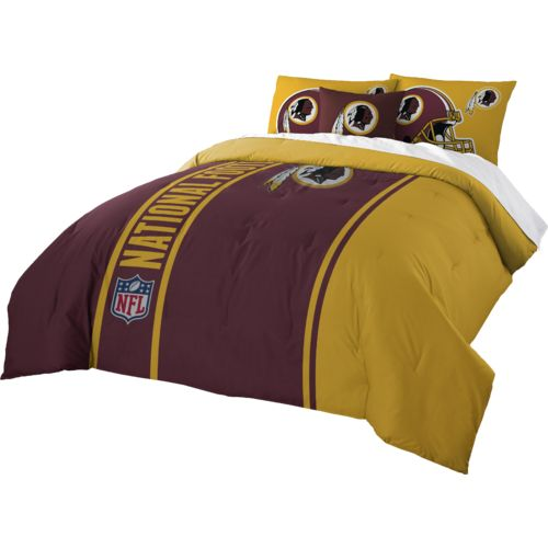 The Northwest Company Washington Redskins Full-Size Comforter and Sham Set