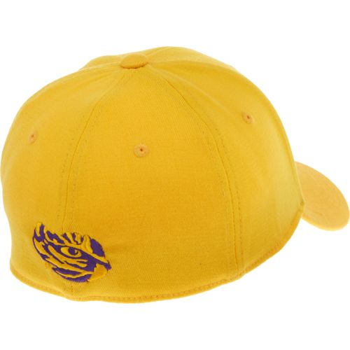 Top of the World Adults' Louisiana State University Premium Collection Memory Fit™ Cap - view number 2