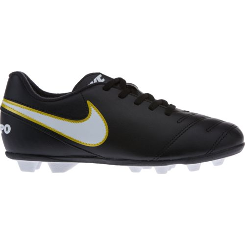 Display product reviews for Nike Kids' Tiempo Rio III Soccer Cleats
