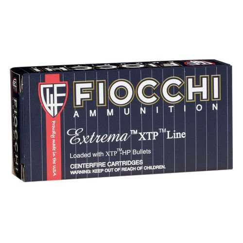 Fiocchi Extrema XTP 9mm 124-Grain Jacketed Hollow Point Centerfire Rifle Ammunition - view number 1