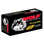 WOLF® Performance Ammunition Match .22LR 40-Grain Round Nose Rimfire Ammunition