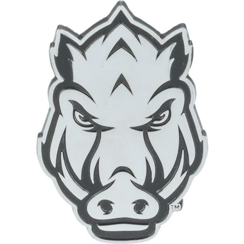 Stockdale University of Arkansas Chrome Freeform Auto Emblem