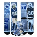 For Bare Feet Adults' Dallas Cowboys Dez Bryant Tie-Dye Sublimation Socks