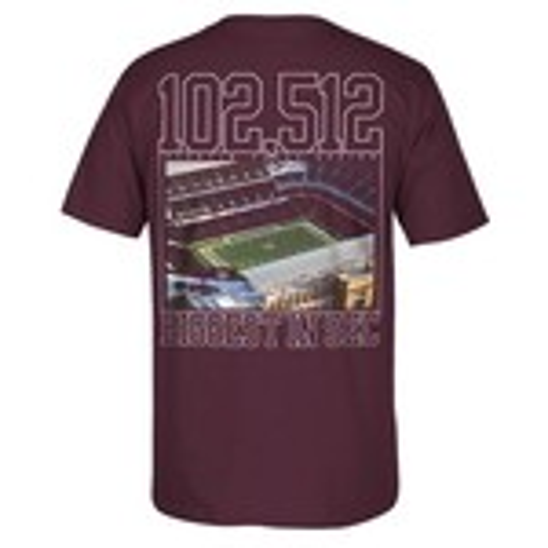 adidas™ Men's Texas A&M University Kyle Field T-Shirt