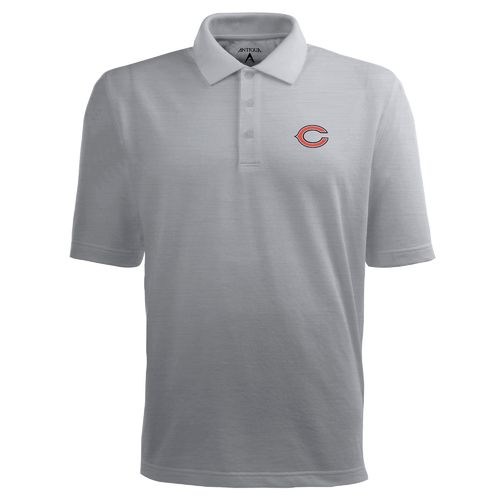 Antigua Men's Chicago Bears Piqué Xtra-Lite Polo Shirt