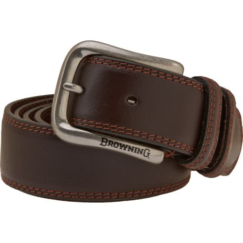Browning Men's Embroidered Leather Belt - view number 1