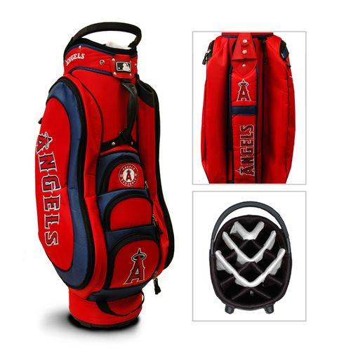 Team Golf Los Angeles Angels Medalist 14-Way Cart Golf Bag