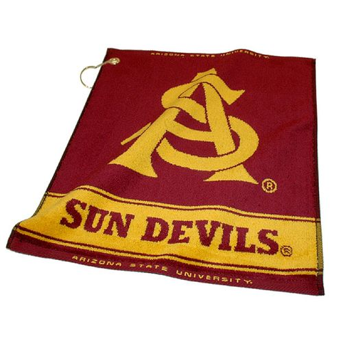 Team Golf Arizona State University Woven Towel