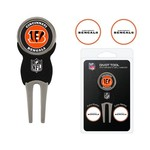 Team Golf Cincinnati Bengals Divot Tool and Ball Marker Set - view number 1
