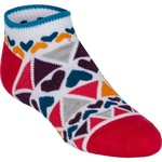 BCG™ Girls' Ultra Life Dazzling Shapes No-Show Socks 6-Pack