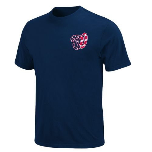 Display product reviews for Majestic Men's Washington Nationals Wordmark Short Sleeve Basic T-shirt
