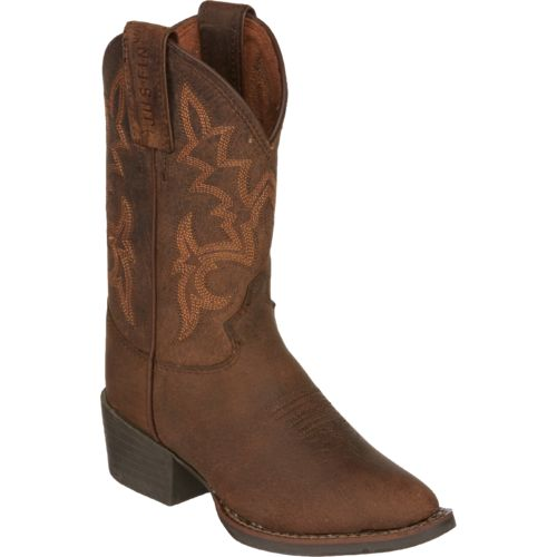 Justin Kids' Buffalo AQHA Foundation Western Boots - view number 2