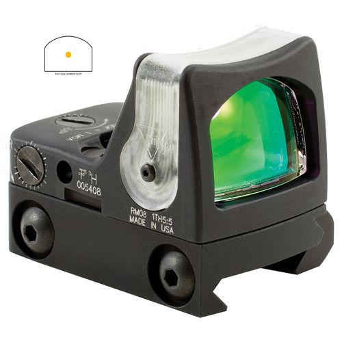 Trijicon RMR Dual-Illuminated Amber Triangle Sight