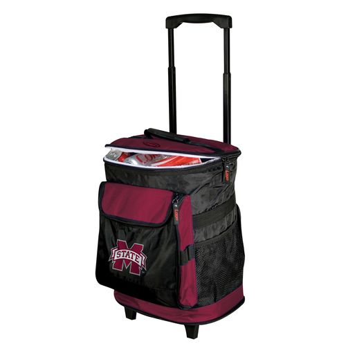 Logo Mississippi State University 48-Can Rolling Cooler