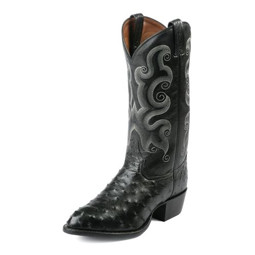 Tony Lama Men's Ostrich Exotics Western Boots - view number 1