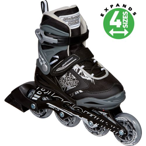 Rollerblade Boys' Bladerunner Phoenix Adjustable In-Line Skates - view number 2