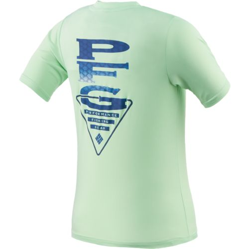 Columbia Sportswear Boys' PFG Stacked Scales™ Graphic T-shirt