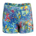 Capezio® Girls' Future Star Allover Printed Gymnastics Bike Short