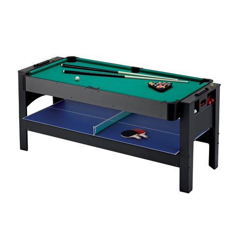 Fat Cat 3-in-1 Flip Air Hockey/Billiards/Table Tennis Game Table - view number 18