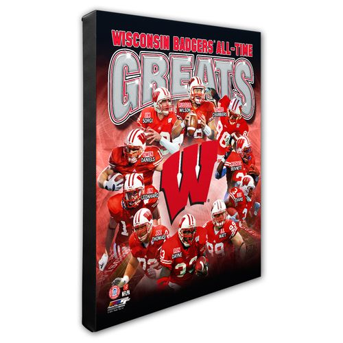 Photo File University of Wisconsin All-Time Greats Stretched Canvas Photo