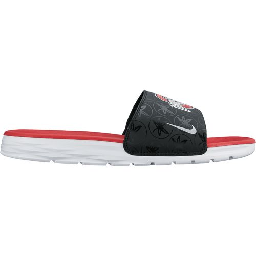 Nike Men's NCAA Benassi Solarsoft Sport Slides - view number 1