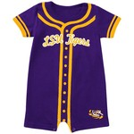 Colosseum Athletics Infants' Louisiana State University Baseball Romper