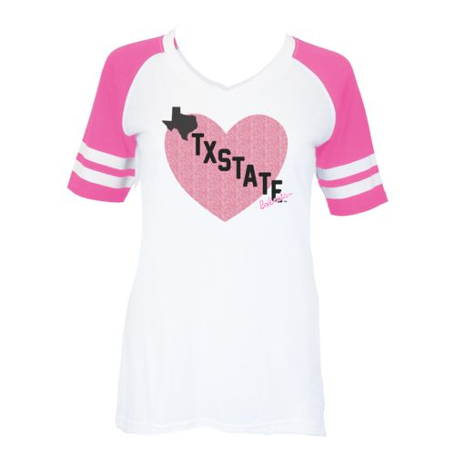 Soffe Girls' Texas State University Retro Football Jersey