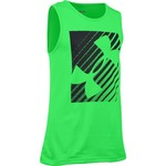 Under Armour® Boys' Inclined Wordmark Tank Top