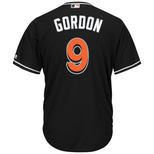 Majestic Men's Miami Marlins Dee Gordon #9 Cool Base Replica Jersey