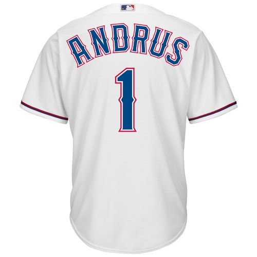 Majestic Men's Texas Rangers Elvis Andrus #1 Cool Base Replica Jersey - view number 1