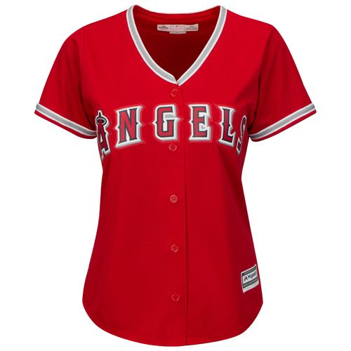 Majestic Women's Los Angeles Angels of Anaheim Cool Base® Replica Alternate Jersey - view number 1