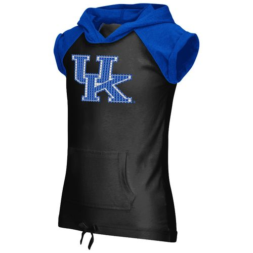 Colosseum Athletics Girls' University of Kentucky Jewel Short Sleeve Hoodie