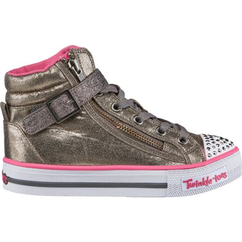 SKECHERS Girls' Twinkle Toes Shuffles Heart N Sole Shoes