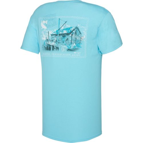 CCA™ Men's Postage Stamp T-shirt