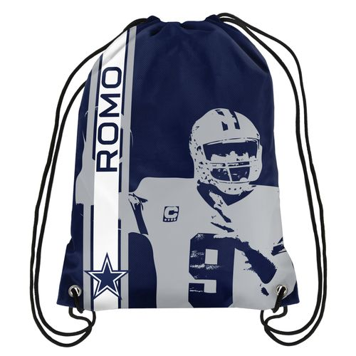 Team Beans Dallas Cowboys Tony Romo #9 Drawstring Backpack