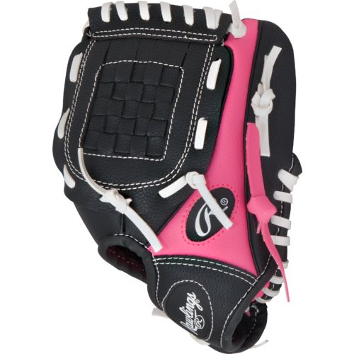 Rawlings Youth Players Series 9 in T-ball Glove with Ball - view number 3