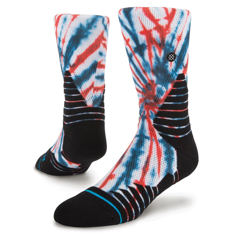 Stance Men's Dred Basketball Socks 6 Pairs