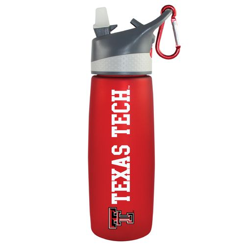The Fanatic Group Texas Tech University 24 oz. Frosted Sport Water Bottle