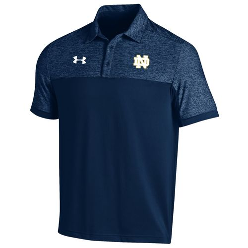 Under Armour™ Men's University of Notre Dame Sideline Podium Polo Shirt