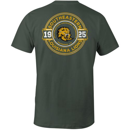 Image One Men's Southeastern Louisiana University Rounds Color Comfort T-shirt