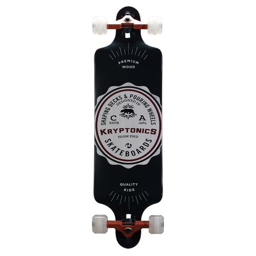 "Kryptonics 34"" Drop-Down American Label Longboard"