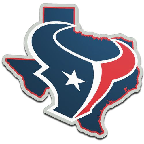 Stockdale Houston Texans Acrylic State Shape Auto Emblem