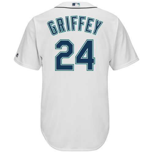 Display product reviews for Majestic Men's Seattle Mariners Ken Griffey Jr. #24 Cool Base Replica Jersey