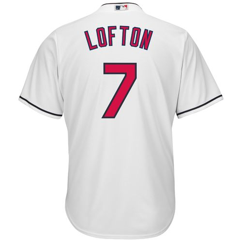 Majestic Men's Cleveland Indians Kenny Lofton #7 Cool Base Replica Jersey - view number 1